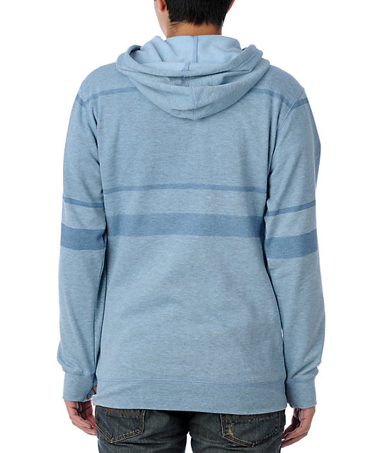 Analog Borough Blue Hoodie