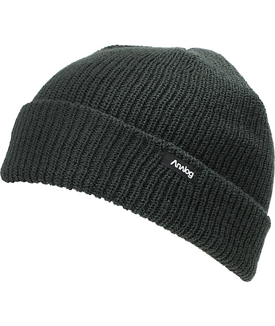 fdb3add61d8eb Analog Burglar Charcoal Beanie