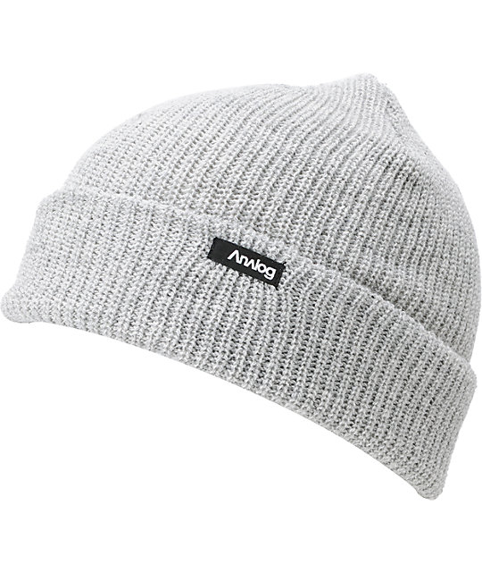 d24a99f211c65 Analog Burglar Light Grey Beanie