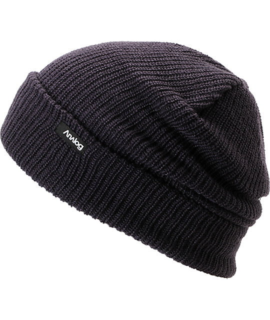 15044f3c5cf2d Analog Burglar Purple Knit Beanie