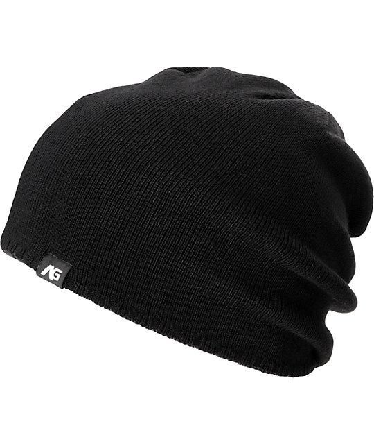 Analog Constant Grey & Black Beanie