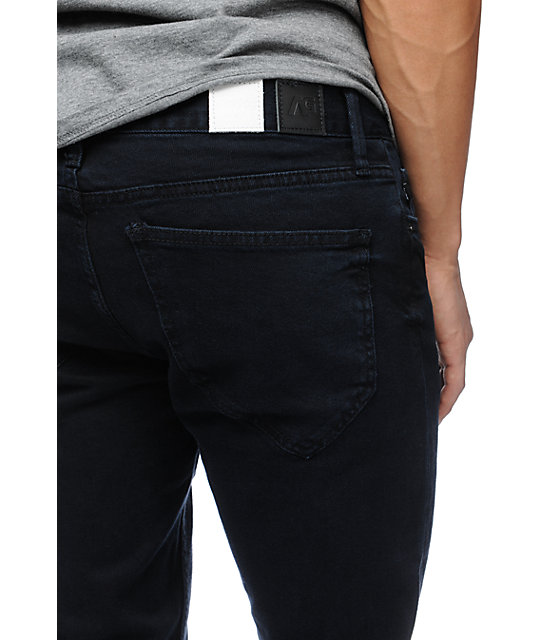 Analog Remer Ink Blue Slim Regular Fit Jeans