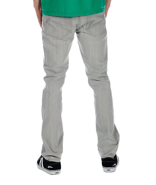 Analog Remer Moody Grey Regular Fit Jeans