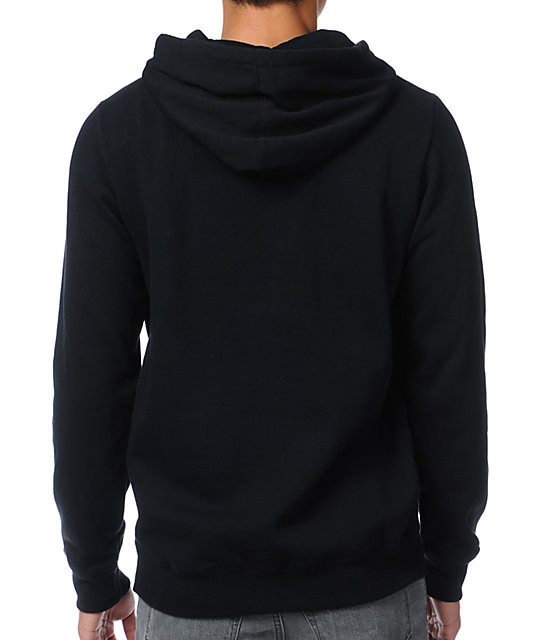 Analog Stray Cat Black Pullover Hoodie