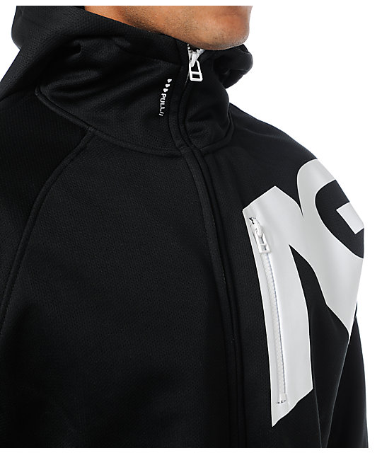 Analog Transpose AFT Rideable Black Fleece Hoodie
