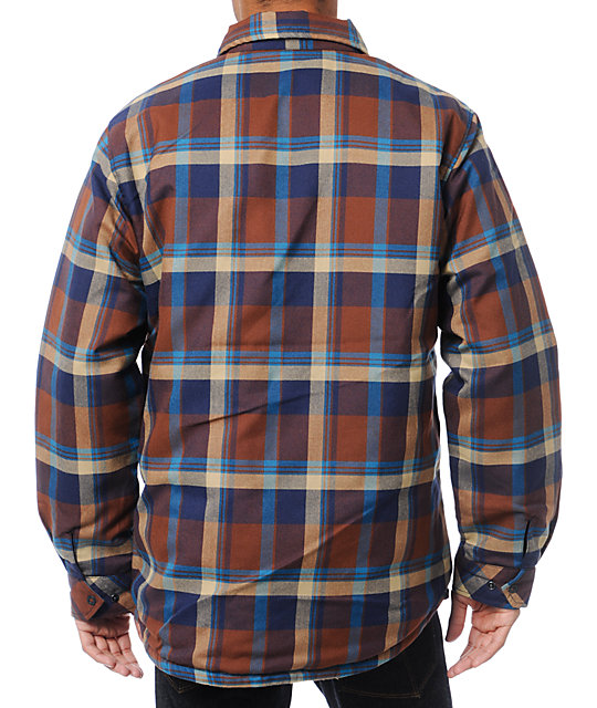 Analog Variant ATF Plaid Flannel Reversible Jacket