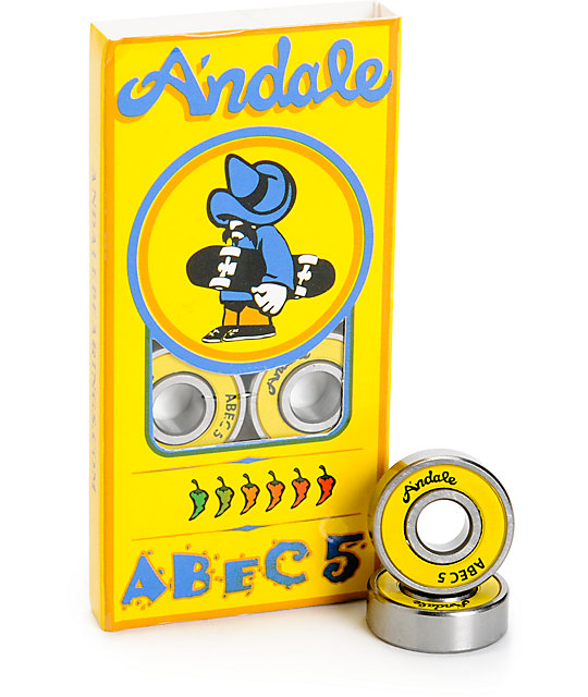 Andale Abec 5 Skateboard Bearings