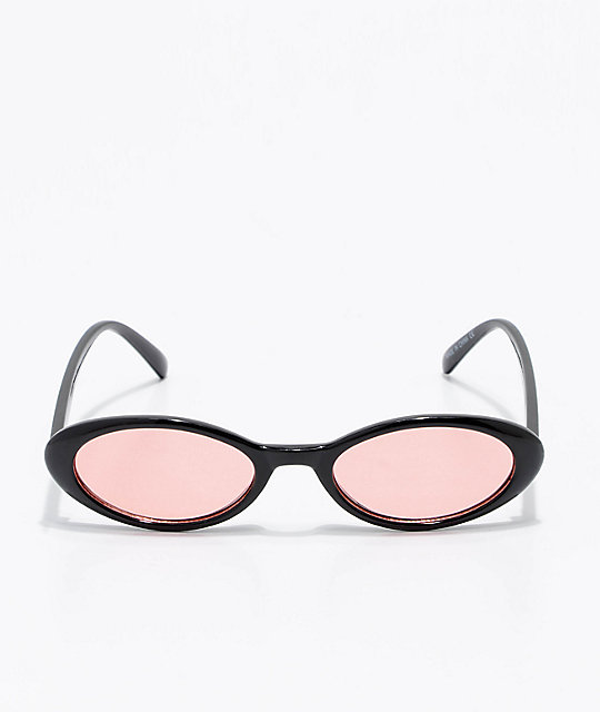 10c2c8ef62d52 ... Angel Black   Red Cat Eye Sunglasses