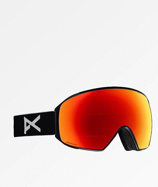 8d0c7cde785 Anon M4 Toric Black   Sonar Red Snowboard Goggles