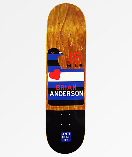 "Anti Hero Anderson Scenic Drive 8.28"" Skateboard Deck"