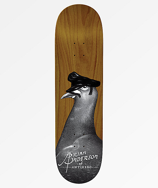 "Anti-Hero BA Feather Daddy 8.5"" tabla de skate"