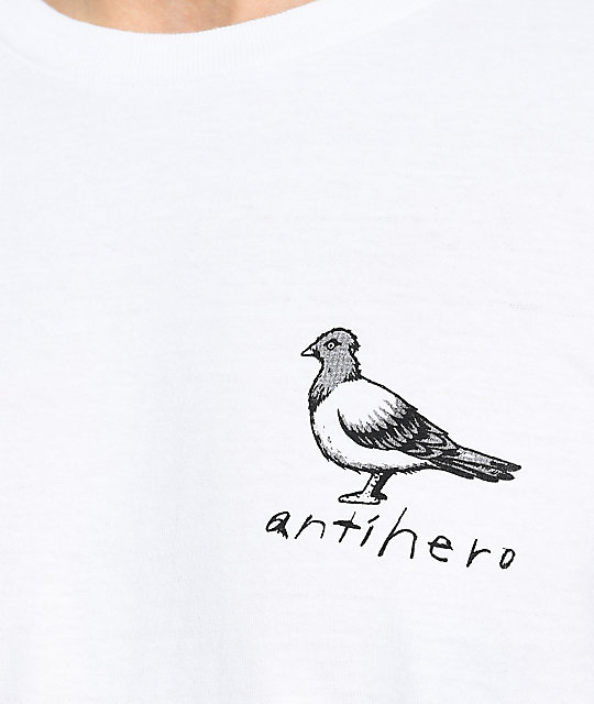 Anti-Hero Basic Pigeon White T-Shirt