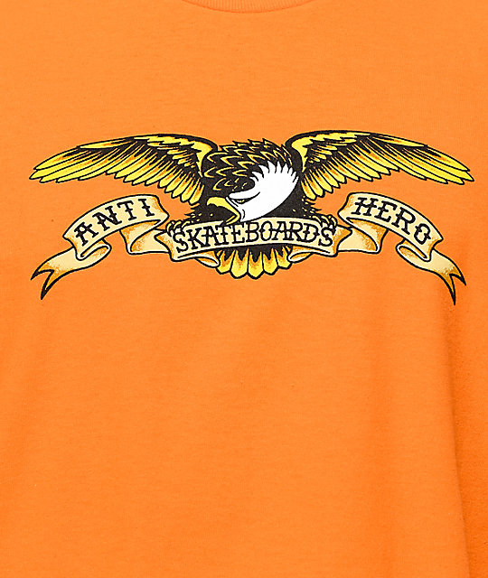 Anti Hero Eagle Orange T-Shirt