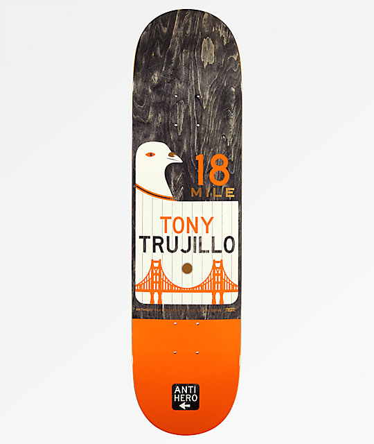 "Anti Hero Trujillo Scenic Drive 8.06"" tabla de skate"