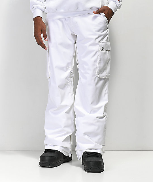 d612ab09667ac Aperture Alive White 10K Snowboard Pants | Zumiez