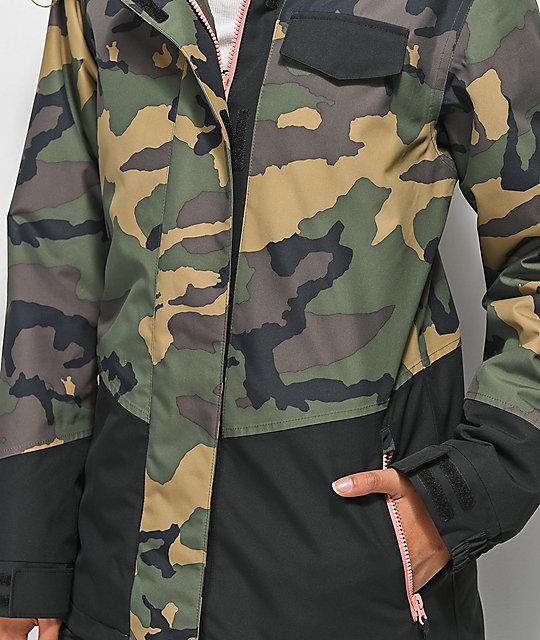 10k Snowboard Camo Jacket Capitol Aperture OqaUwTOZ
