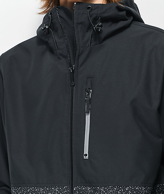 Aperture Carpet Lift Black & Reflective 10K Snowboard Jacket