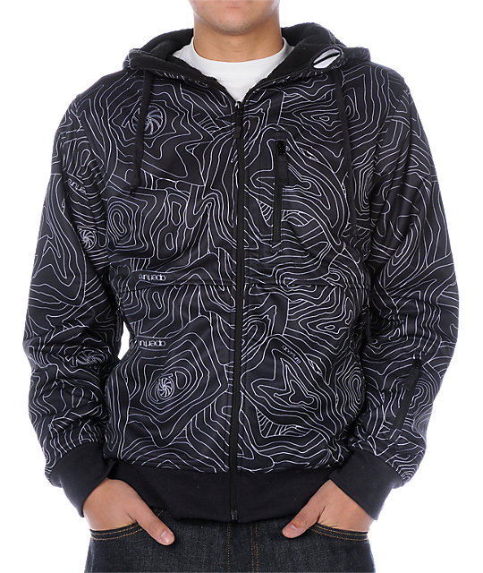 Aperture Nomad Black Tech Fleece Jacket