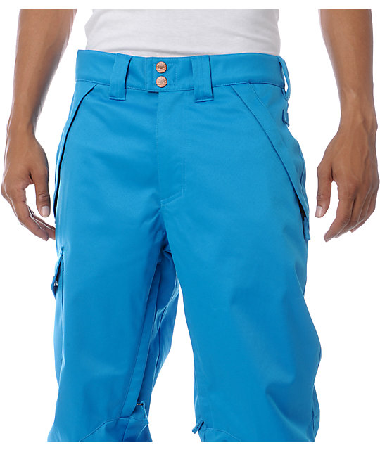 Aperture Union Blue 10K Mens Snowboard Pants