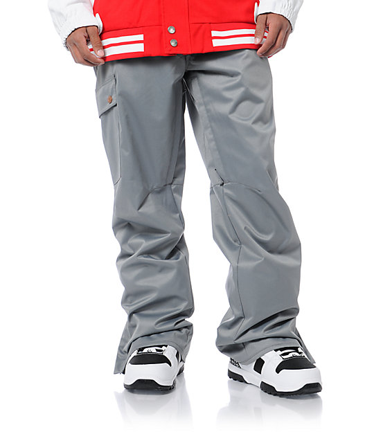 Aperture Union Grey 10K Mens Snowboard Pants