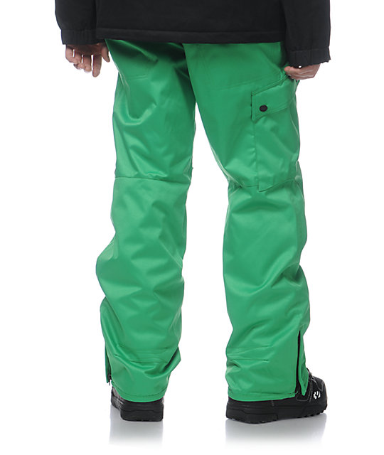 Aperture Union Kelly Green 10K Mens Snowboard Pants