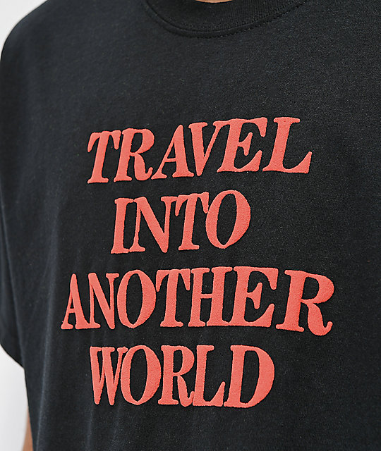 Aras Another World Black T-Shirt