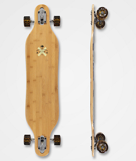 "Arbor Axis Bamboo Collection 40"" Drop Through Longboard Complete"