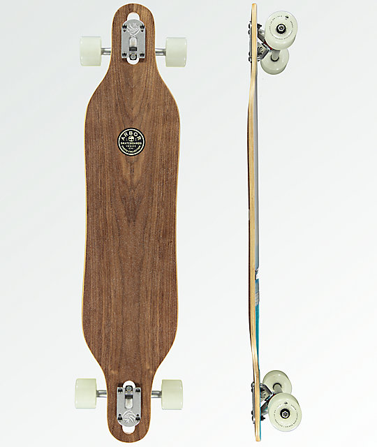 "Arbor Axis Jon PC 40"" Drop Through Longboard Complete"