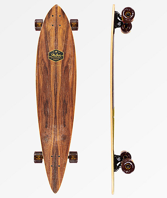 "Arbor Timeless Groundswell 2018 42"" Pintail Longboard Complete"