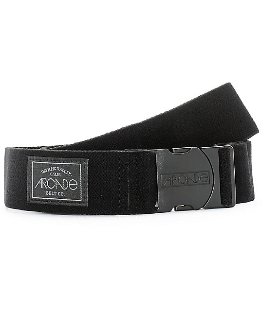 Arcade Midnighter Black Clip Belt