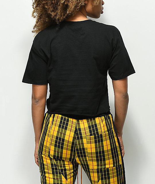 Artist Collective Calabasas Black Crop T-Shirt