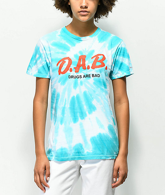 Artist Collective D.A.B. Blue Tie Dye T-Shirt