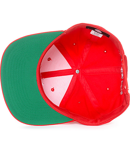 Artist Collective I Feel Like Narcos Red Snapback Hat