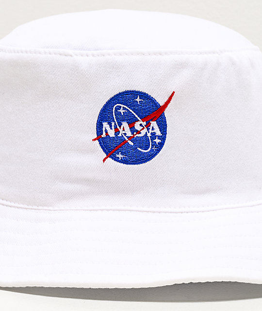Artist Collective NASA Logo White Bucket Hat