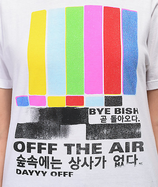 Artist Collective Off The Air White T-Shirt