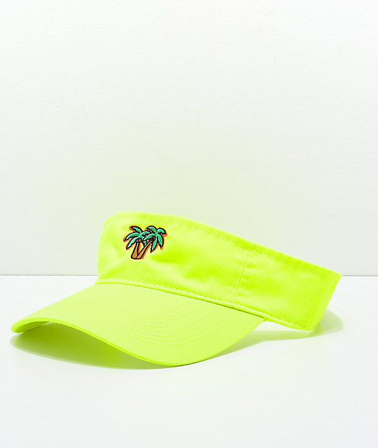 Artist Collective Palmies Yellow Visor