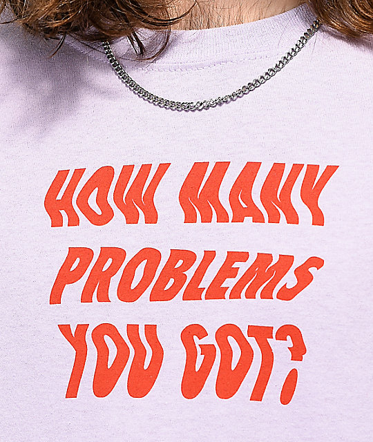 Artist Collective Problems You Got camiseta morada