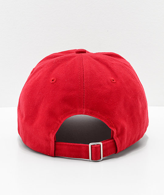 Artist Collective Savage Red Strapback Hat