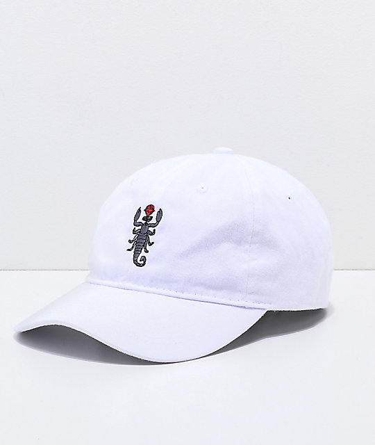 Artist Collective Scorpion White Baseball Hat