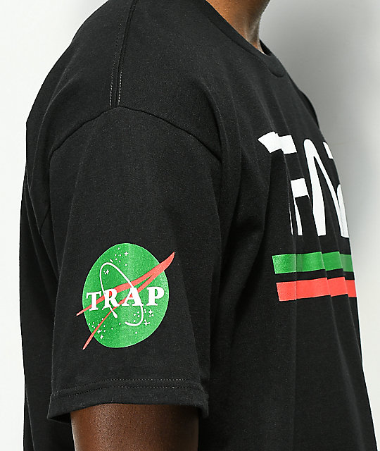Artist Collective Space Trap Black T-Shirt