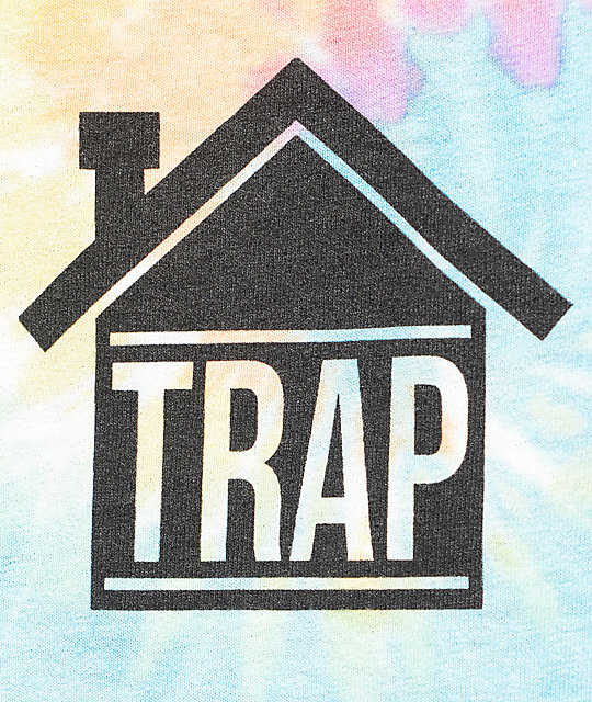 Artist Collective Trap House Tie Dye Tank Top