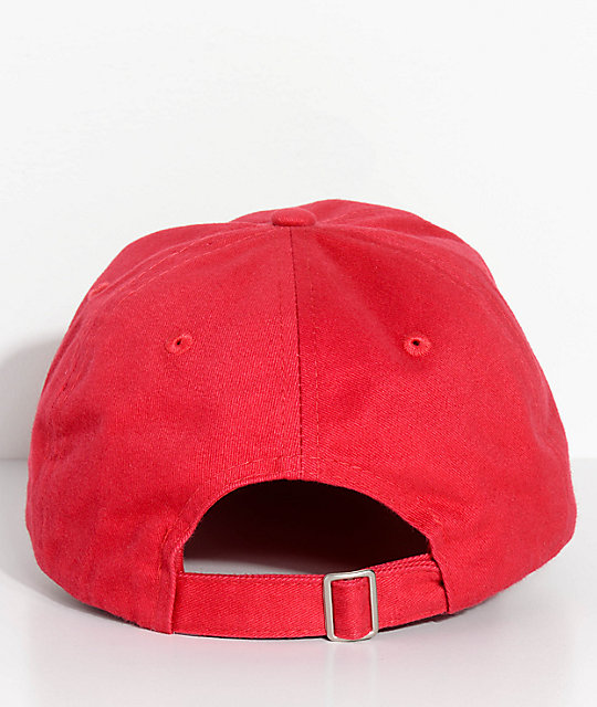 Artist Collective Trappin Cup Red Strapback Hat