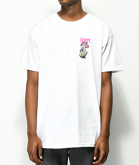 Artist Collective Trippy White T-Shirt