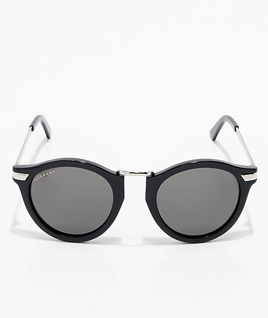 Ashbury Crow Black Sunglasses