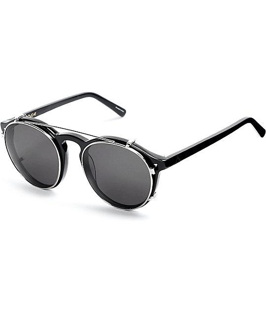 Ashbury Holiday Clip Black Sunglasses ...