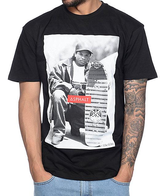 56edd8aba0e Asphalt Yacht Club x Eazy E x Mike Miller Eazy Does It Black T-Shirt ...