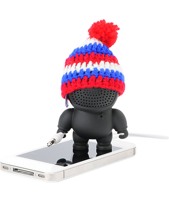 Audiobot Black Beanie Bot Powered Speaker