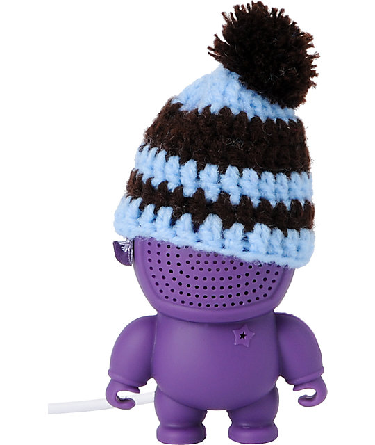 Audiobot Purple Beanie Bot Powered Speaker