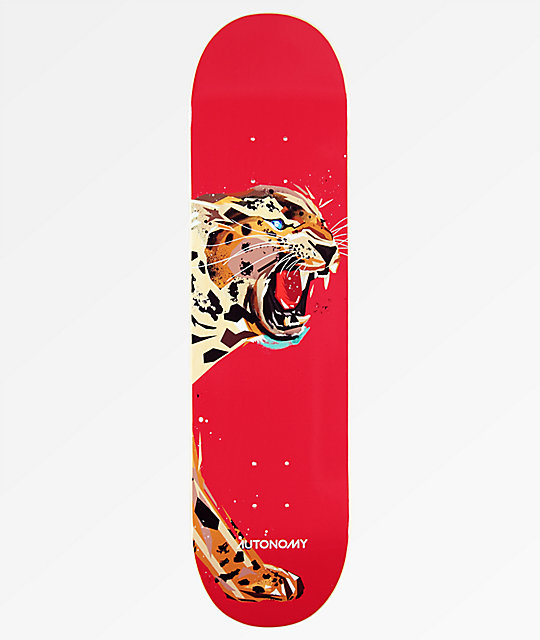 "Autonomy Jaguar Endangered 8.0"" tabla de skate"