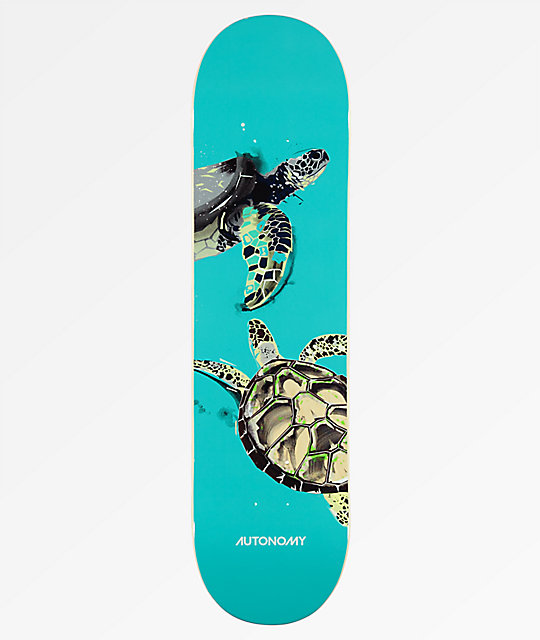"Autonomy Turtle Endangered 8.0"" tabla de skate"